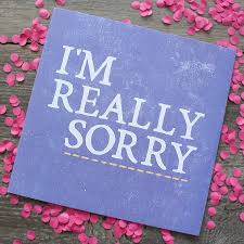 sorry cards sorry cards for friends iscblog card really card mughals in
