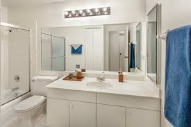 Modern Apartment Bathroom - apartments for rent in mount prospect il park grove apartments