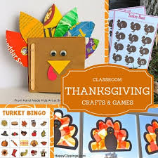 thanksgiving crafts for the classroom homeroom
