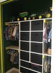 ana white john deere themed boys u0027 closet diy projects