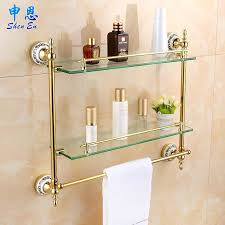 frosted glass bathroom shelf uk telecure me