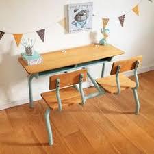 bureau vintage enfant bureau d enfant pupitre d écolier vintage rénové par chouette