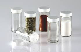 Clear Glass Canisters For Kitchen Kitchen Spice Containers Zamp Co