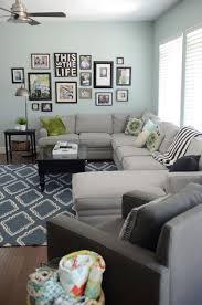 Living Room Rug Size Guide Interesting Living Room Rug Size Rules Under Sofa Dark Blue
