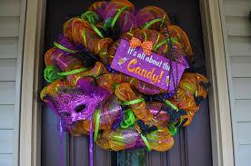 halloween wreath deco mesh redwithenvydesigns dma homes 61860