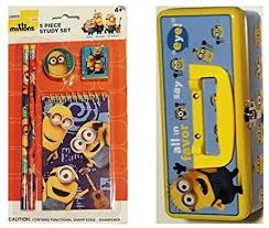Minion Desk Accessories by Minion Stationery Set Stationery Set Shop For Minion Products