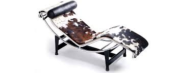 le corbusier chaise lounge lc4 leather fabric cashmere furniture