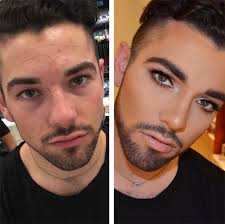 men wearing makeup is the newest trend on insram 16 pics