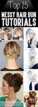 hair buns for hair top 25 hair bun tutorials for those lazy mornings