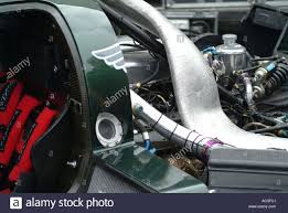 bentley engine engine compartment of bentley speed 8 endurance sports car at