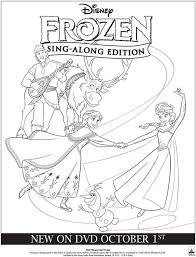 frozen fever coloring pages print borthday annas frozen fever