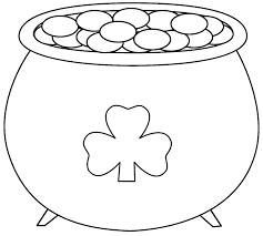 best st patricks day add photo gallery st patrick coloring page at