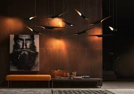 mid century modern lamps inspired by jazz music