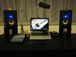 Studio Monitor Desk by Mdf Desktop Stands For Monitor Speaker The Cheapskate Engineer