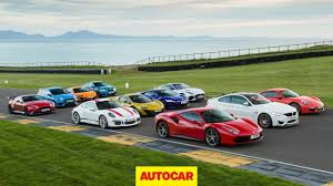 The Best Sports Cars Tested Britain U0027s Best Driver U0027s Car 2016