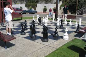 giant chess board on the embarcadero in morro bay places i u0027ve