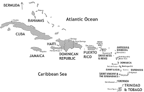 Caribbean Map by Caribbean Map