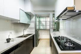 U Home Interior Design Hdb Kitchen
