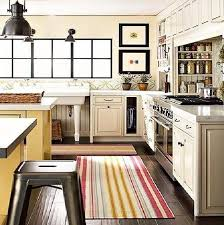 Rag Rugs For Kitchen Kitchen Area Rugs For Hardwood Floors Rugs Decoration
