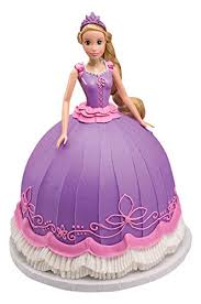 tangled cake topper decopac disney princess doll signature cake decoset