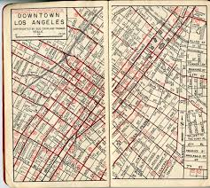 map of downtown los angeles downtown los angeles george coupland brothers map