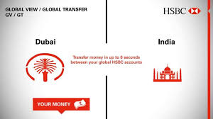 global money transfer hsbc global view global transfer dubai india youtube