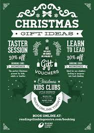 christmas gift ideas reading climbing centre