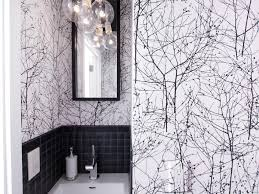 designer bathroom wallpaper rooms viewer hgtv