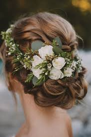 wedding flowers in hair fresh flower hair accent wedding accessory wedding fashion