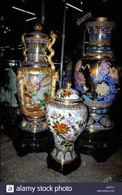Antique Cloisonne Vases Cloisonné Vase Beijing China Stock Photos U0026 Cloisonné Vase Beijing