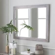 Coastal Bathroom Mirrors by Found It At Wayfair Coastal Weathered Gray Wall Mirror