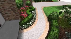 landscape design 3d walkthrough front yard landscaping