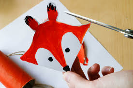 toilet roll craft for kids a little fox