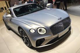bentley sports car 2016 new 2018 bentley continental gt goes on display in frankfurt