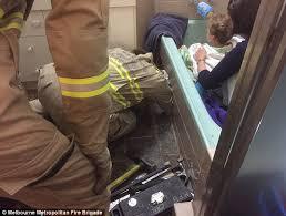 Two Polar Bears In A Bathtub Melbourne Boy Gets Stuck In Bathtub Plughole For 5 Hours Daily