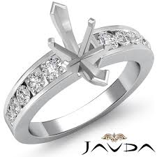 marquise diamond engagement rings diamond engagement marquise semi mount ring channel setting 14k