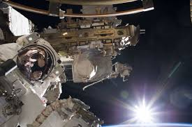 glorious at the start of a spacewalk nasa