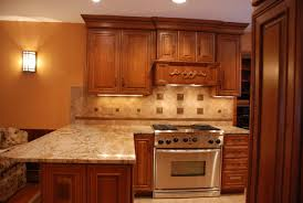 kitchen calm backsplash tile color closed hoods kitchen cabinets