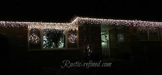 Outdoor Christmas Lights Decorations Hang Outdoor Holiday Lights Quickly Tutorial Hometalk