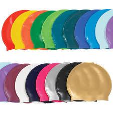 item 25 sports silicone swim caps
