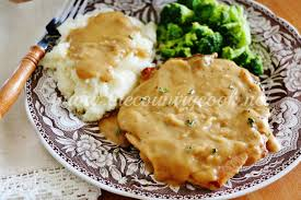 crock pot smothered pork chops the country cook