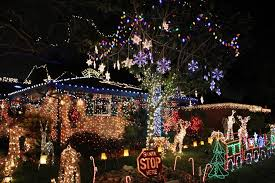 christmas of the bestmas light displays bunch 313750222