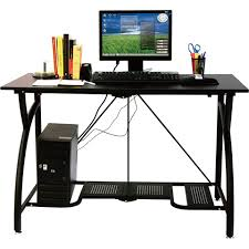 Flat Computer Desk Top 10 Best Computer Desks For Office In 2018 Alltopguide
