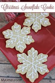 snowflake cookies christmas snowflake cookie recipe mylitter one deal at a time