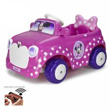 disney cars ferrari disney minnie mouse 6v ride on children u0027s car auto kids