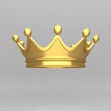 crown ornaments king model