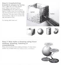 3 Dimensional Shapes Worksheets Teaching Tip Tuesday U2013 5 Shading Techniques Silent Cacophony