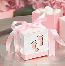 baby shower ribbon since 50pcs baby shower ribbon favour gift candy boxes