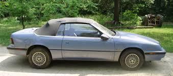 curbside classic 1992 chrysler lebaron convertible u2013 take your