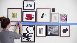 Hanging A Frame by How To Hang Wall Art In Bedroom Home Design